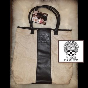 New! Vince Camuto Suede Tote!